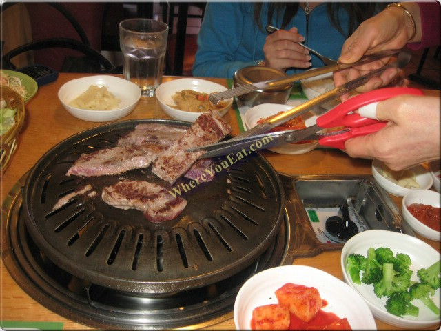 Island restaurant - How to build a korean bbq table ...