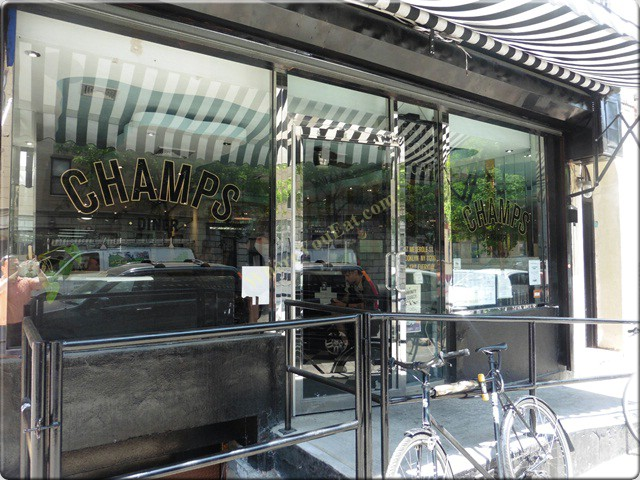 Champs Diner In Williamsburg Sandwiches And American