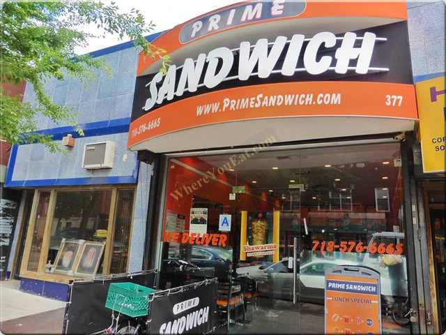 Sandwiches In Prospect Lefferts Gardens Prime Sandwich
