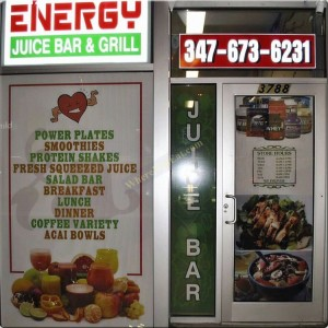 Energy Juice Bar and Grill