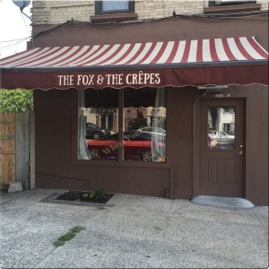 The Fox and The Crepes in Windsor Terrace